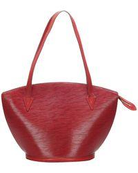 Louis Vuitton Red Epi Leather Saint Jacques Long Strap Gm Bag