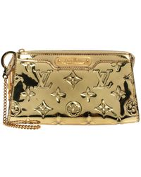 Louis Vuitton Gold Monogram Miroir Trousse Cosmetic Pouch - Metallic