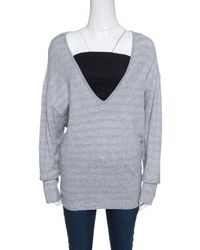 Chanel Grey Cotton