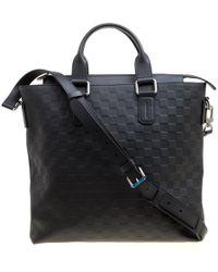 2d0cbe4f3e Black Damier Infini Leather Daily Bag