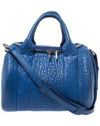 Alexander Wang Blue Leather