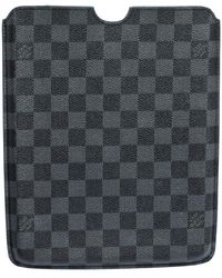 Louis Vuitton Damier Graphite Canvas Ipad Case - Black