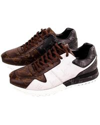Louis Vuitton Monogram Run Away Trainers Size 42.5 - Brown