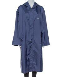 Vetements Navy Blue Aries Zodiac Detail Rain Coat (one