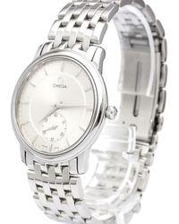 Omega - Stainless Steel De Ville Prestige Men's Wristwatch 34mm - Lyst