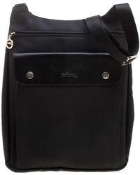 Longchamp - Nylon Messenger Bag - Lyst