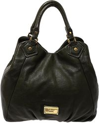 Marc By Marc Jacobs Green Leather Classic Q Francesca Shoulder Bag