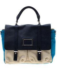 Marc By Marc Jacobs - Tri Color Leather Werdie Top Handle Bag - Lyst