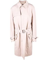 Louis Vuitton Cotton Trench Coat Xl - Natural