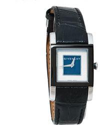 Givenchy Black Stainless Steel Gv5234l Quartz Wristwatch
