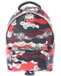 Louis Vuitton Multicolor Damier Azure Canvas Patchwork Waves Palm Springs Backpack Bag