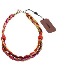 Missoni Multicolour Double Rope Braided Necklace