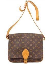 Louis Vuitton - Monogram Canvas Cartouchiere Gm Bag - Lyst