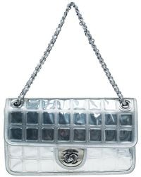 Chanel - Leather Ice Cube Limited Edition Flap Bag - Lyst
