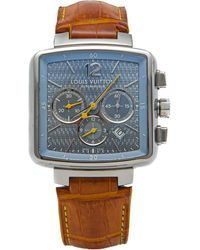 Louis Vuitton Silver Dial Steel Speedy Automatic Men's Watch 40mm - Metallic