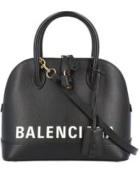Balenciaga Top Handle Ville - Black