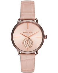 Michael Kors - Rose Stainless Steel Portia Mk2721 Women's Wristwatch 37mm - Lyst