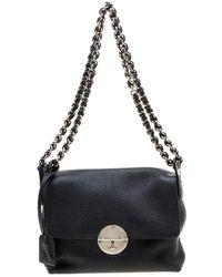 Marc Jacobs \n Black Leather Handbag