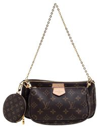 Louis Vuitton Monogram Canvas Multi-pochette Accessories Bag - Brown