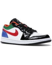 Nike Jordan 1 Low Multi Black Toe