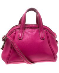 Lancel - Leather La Charmeuse Top Handle Bag - Lyst