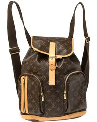 Louis Vuitton Monogram Canvas Sac A Dos Bosphore Backpack - Brown