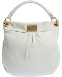 Marc By Marc Jacobs Off White Leather New Q Hillier Hobo
