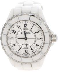 Chanel - Ceramic J12 H0970 Wristwatch 38mm - Lyst