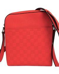 486bf30572 Fusion Damier Infini Leather District Pochette Bag - Orange