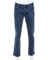 Burberry Brit Blue Denim Slim Fit Steadman Jeans