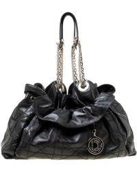 Dior - Le Trente Black Leather Handbag - Lyst