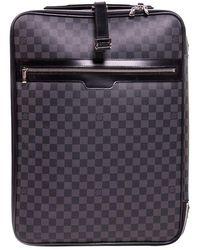 Louis Vuitton Damier Graphite Pegase 55 Suitcase - Multicolour
