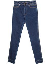 Louis Vuitton Indigo Dark Wash Denim Skinny Jeans S - Blue