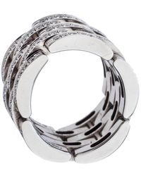 Cartier 18k Yellow Gold Multi-gemstone Nigeria Band Ring - Metallic