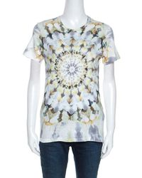 Dior Christian Multicolor Printed Kalei Scopic T-shirt S