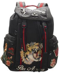 Gucci Black Nylon L'aveugle Par Amour Techpack Backpack