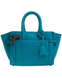 Zadig & Voltaire Blue Leather