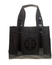 3471632374d9 Tory Burch - Patent And Nylon Tory Tote - Lyst
