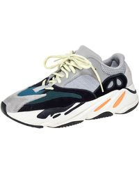 Yeezy Multicolour Mix Media Boost 700 Wave Runner Trainers Size 41.5