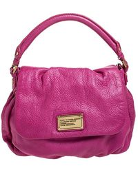 Marc By Marc Jacobs Pink Leather Classic Q Lil Ukita Top Handle Bag