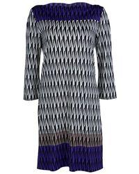 Diane von Furstenberg - Printed Silk Jersey Ruri Dress L - Lyst
