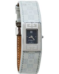 Givenchy Grey Stainless Steel Expression Reg. 92438731 Wristwatch 18 Mm