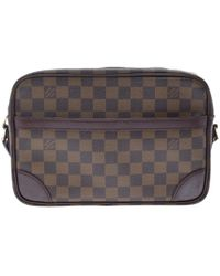 Louis Vuitton - Damier Ebene Canvas Trocadero 27 Bag - Lyst