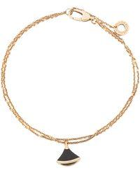 BVLGARI Divas' Dream Onyx 18k Rose Gold Bracelet Ml - Metallic