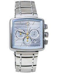 Louis Vuitton Blue Stainless Steel Speedy Q2121 Wristwatch - Metallic