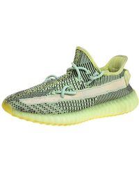 Yeezy X Adidas Green Knit Fabric Boost 350 V2 Yeezreel (non-reflective) Trainers
