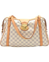 c99dacc9354 Lyst - Louis Vuitton Neverfull Mm Tote Shoulder Bag N41361 Damier ...