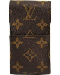 Louis Vuitton - Monogram Canvas Cigarette Case - Lyst