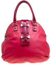 Roberto Cavalli \n Red Leather Handbag