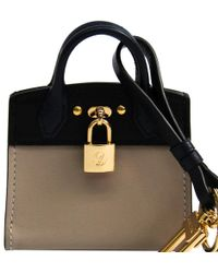 Louis Vuitton Two Tone Leather City Steamer Bag Charm And Key Holder - Multicolor